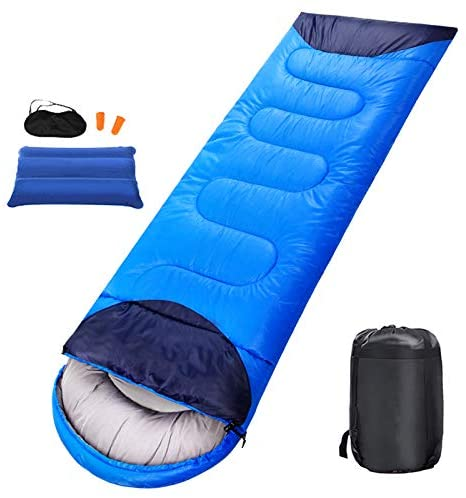 XiuanCum Camping Sleeping Bag Ultralight Waterproof Warm Envelope Backpacking Sleeping Bag for Outdoor Traveling Hiking