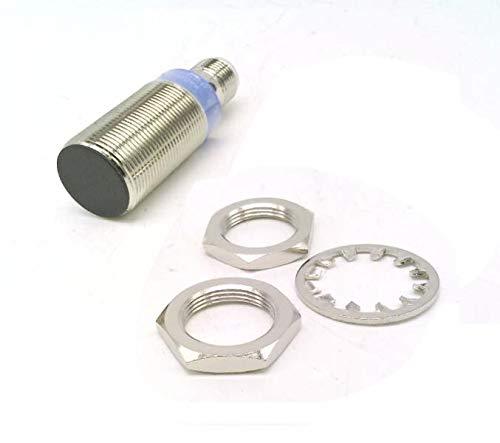 RADWELL VERIFIED SUBSTITUTE E2E-X5F1-M1-N-SUB NO, Cylindrical, 18MM Threaded Body, 5MM Range, Shielded Construction, Proximity Sensor - INDUCTIVE Proximity Sensor, Chrome Plated Brass, PNP Output