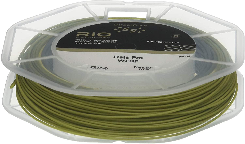 RIO Fly Fishing Fly Line Flats Pro Wf11F Fishing Line, Gray/Sand/Kelp