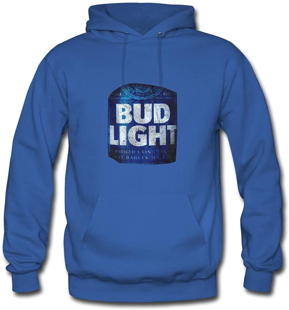 LiliGang Men's Bud Light Beer Cheapest Hoodie Sweatshirt