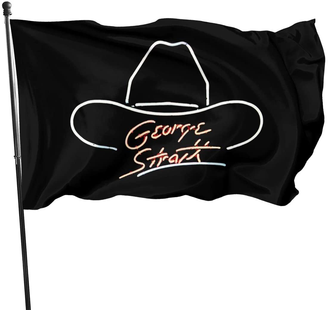 SHWIYZOWS George Strait Decorative Home Outdoor Flag3' X 5'