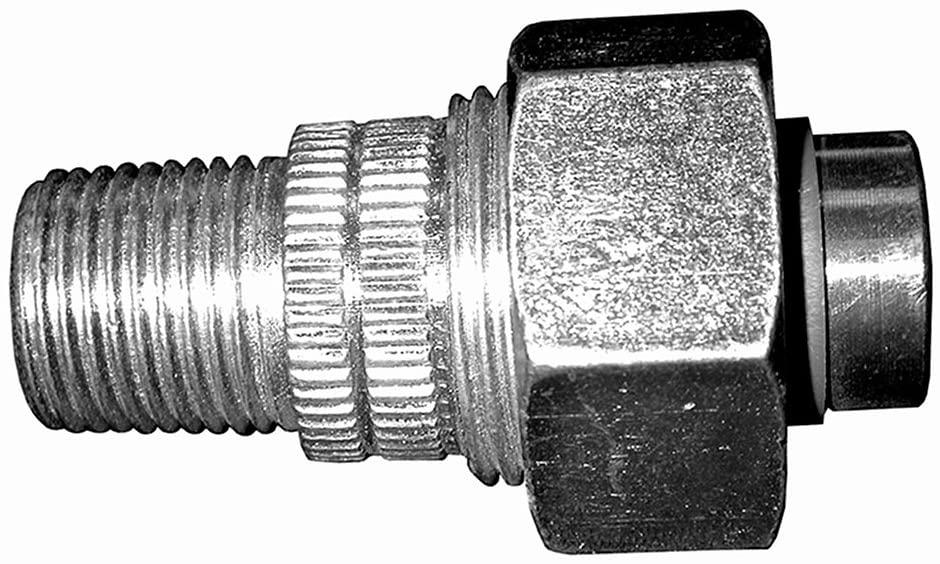 Jones Stephens Corp - 1/2 Mip X 1/2 Sweat Dielectric Union Lf