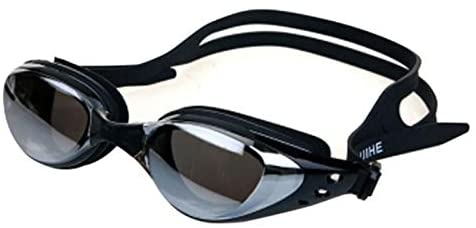 ZQ Waterproof Mirrored Swimming Goggles Silicone Seal Diving Glasses UV Protection Anti-Fog Anti-Shatter Swimming Glass