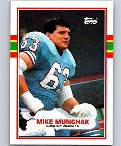 1989 Topps #97 Mike Munchak Oilers NFL Football