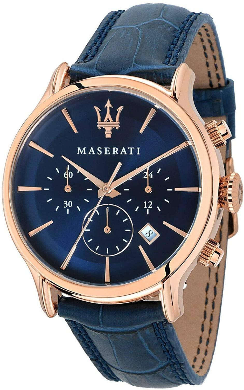 Genric New Maserati Fashion Chronograph Watch with Box