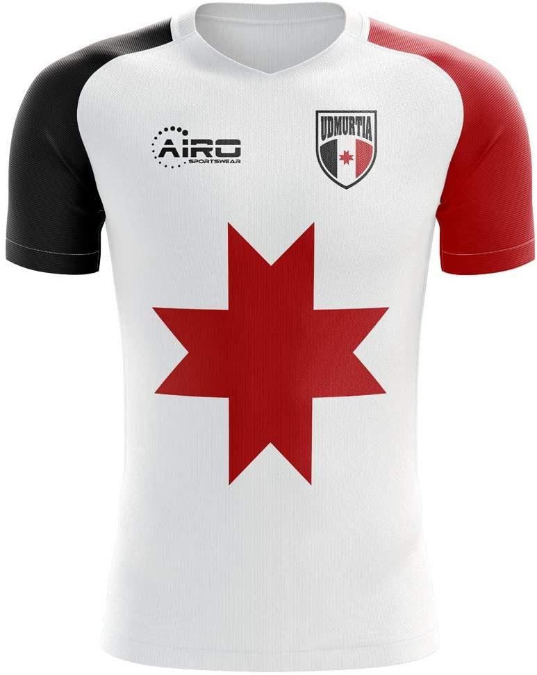 Airosportswear 2018-2019 Udmurtia Home Concept Football Soccer T-Shirt Jersey - Kids