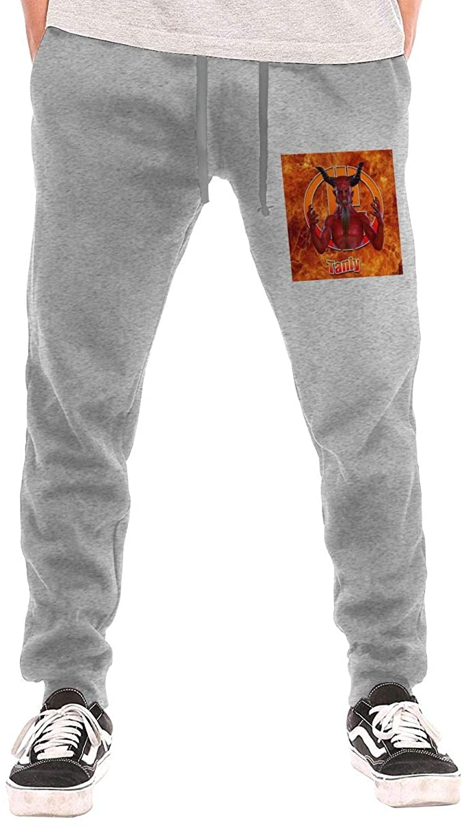 AP.Room Men's Tenacious D Jogging Trousers Black