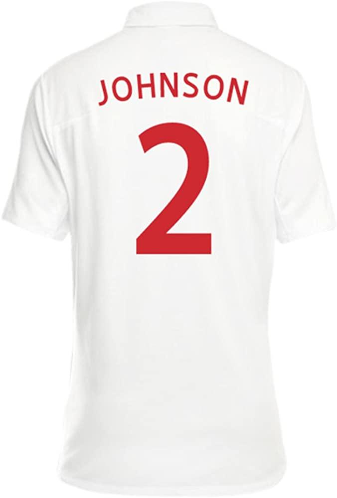 Umbro JOHNSON #2 England Women's Home Jersey