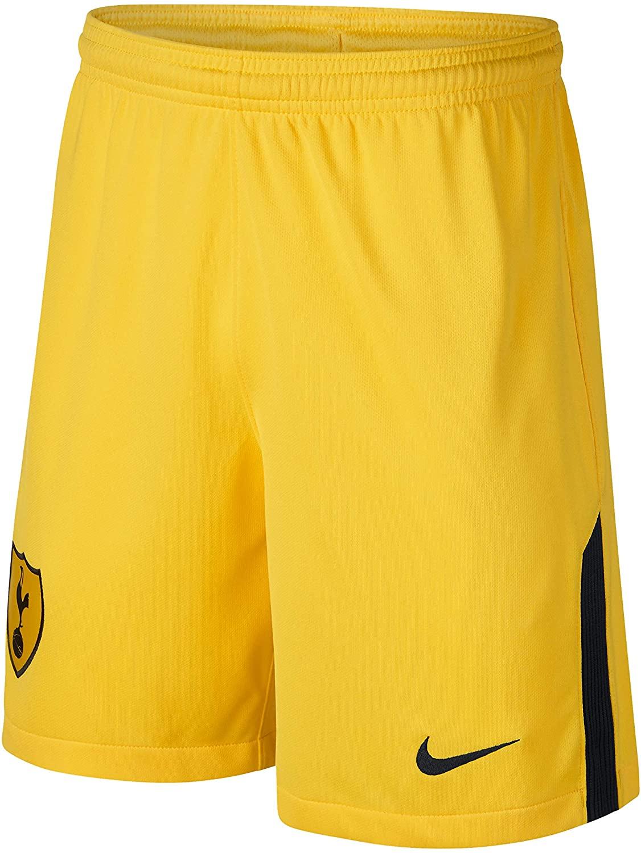 Nike 2017-2018 Tottenham Home Goalkeeper Shorts (Yellow) - Kids