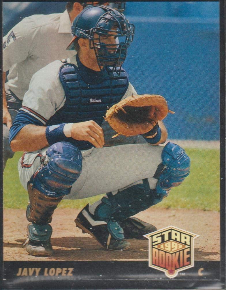 1993 Upper Deck Javy Lopez Braves Star Rookie Baseball Card #29