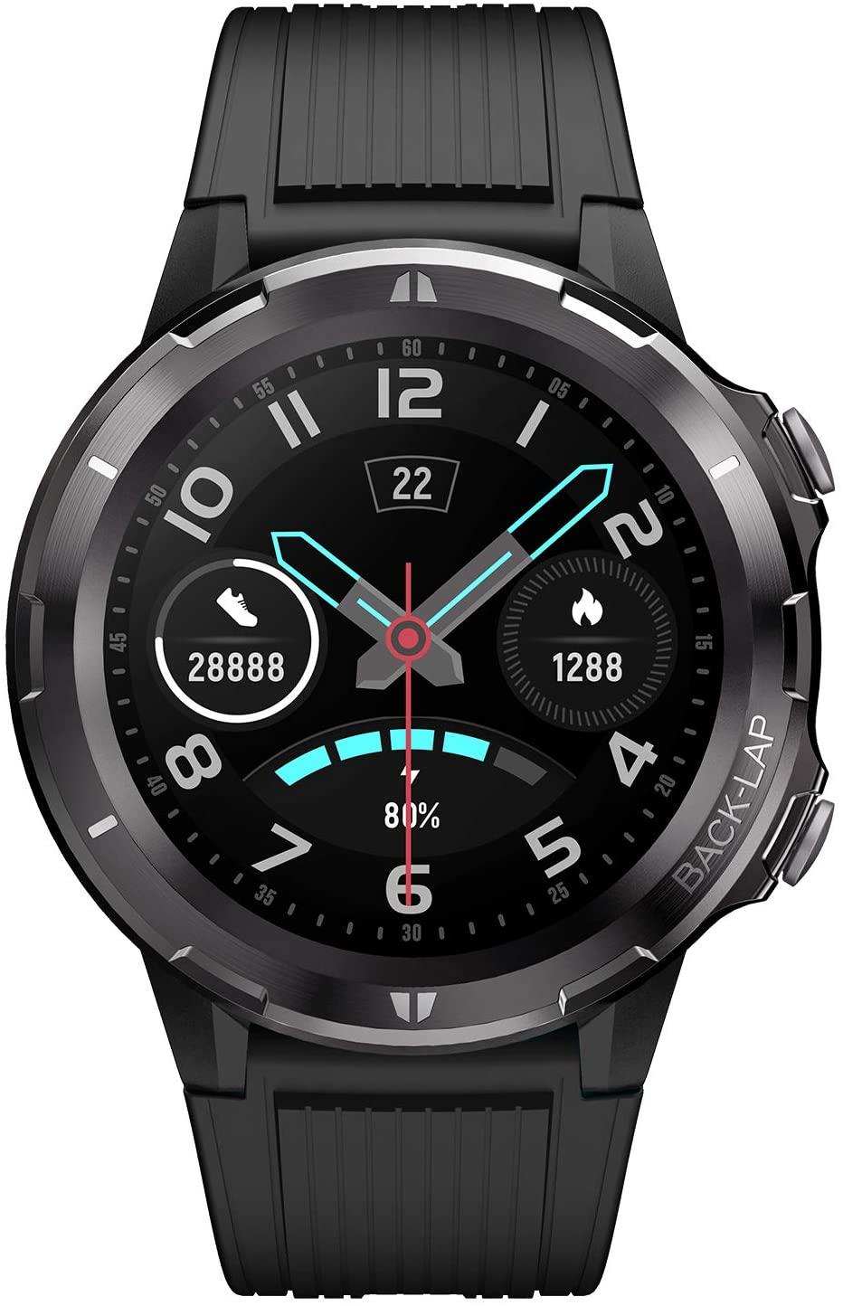 LETSCOM Smart Watch, Fitness Tracker with Heart Rate Monitor, IP68 Waterproof Smartwatch 1.3