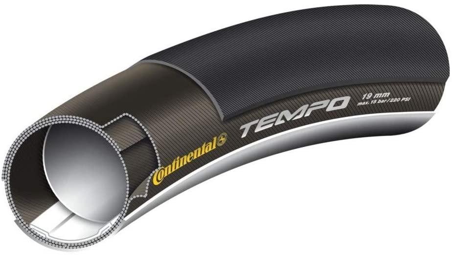 Continental Tempo II Bike Tire, Black, 28-Inch x 19mm