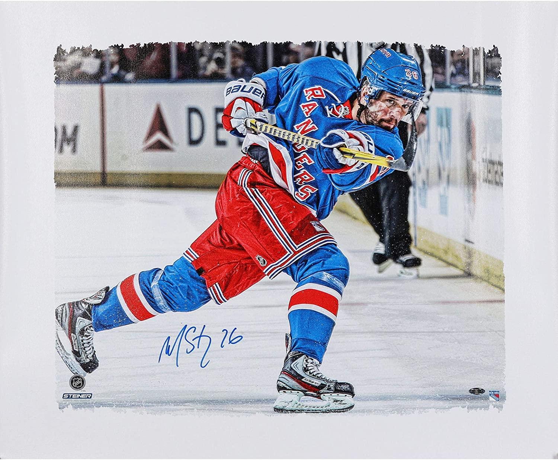 Martin St. Louis New York Rangers Autographed 22