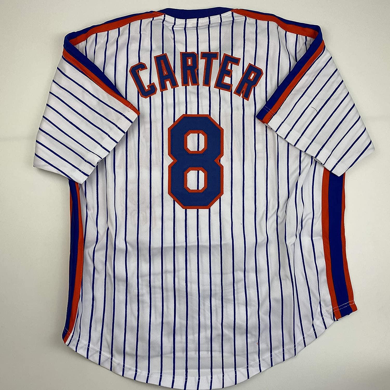 Unsigned Gary Carter New York Pinstripe Custom Stitched Baseball Jersey Size Men's XL New No Brands/Logos