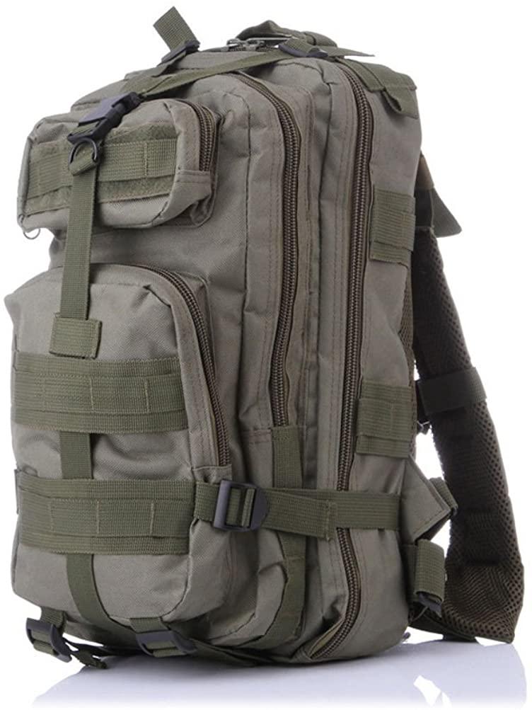 ADJOY9 Chic Military Tactical Backpack Casual Hiking Rucksack Multipurpose Pack