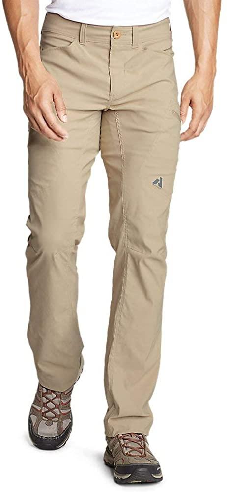 Eddie Bauer Men's Guide Pro Pants, Lt Khaki Tall 38/34
