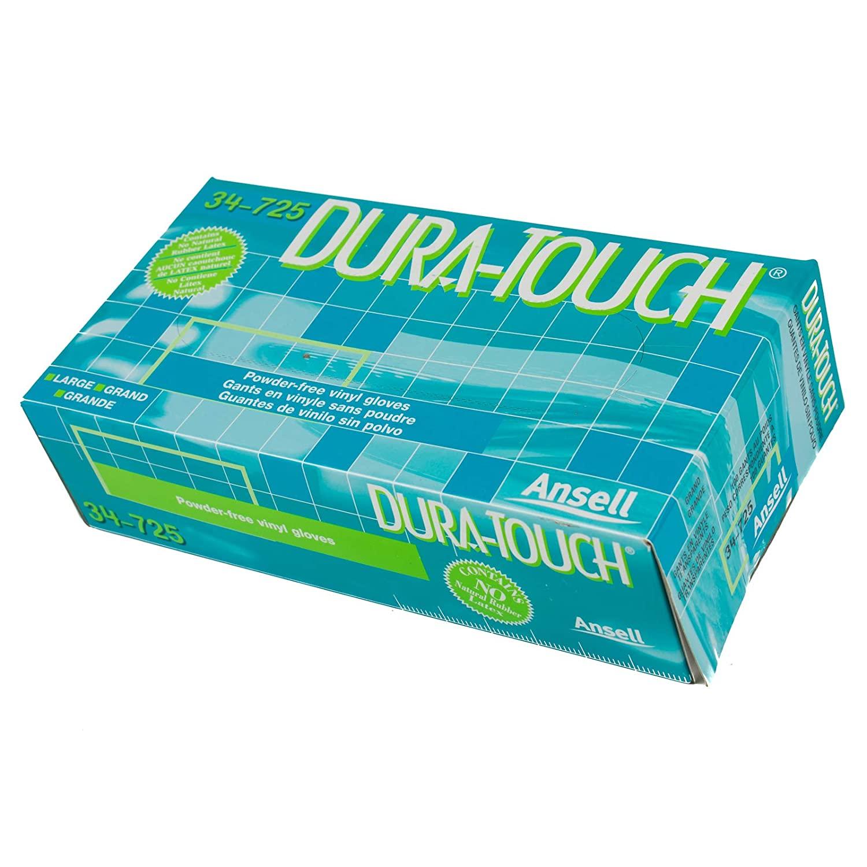 DuraTouch Vinyl Exam Gloves, box/100, Large