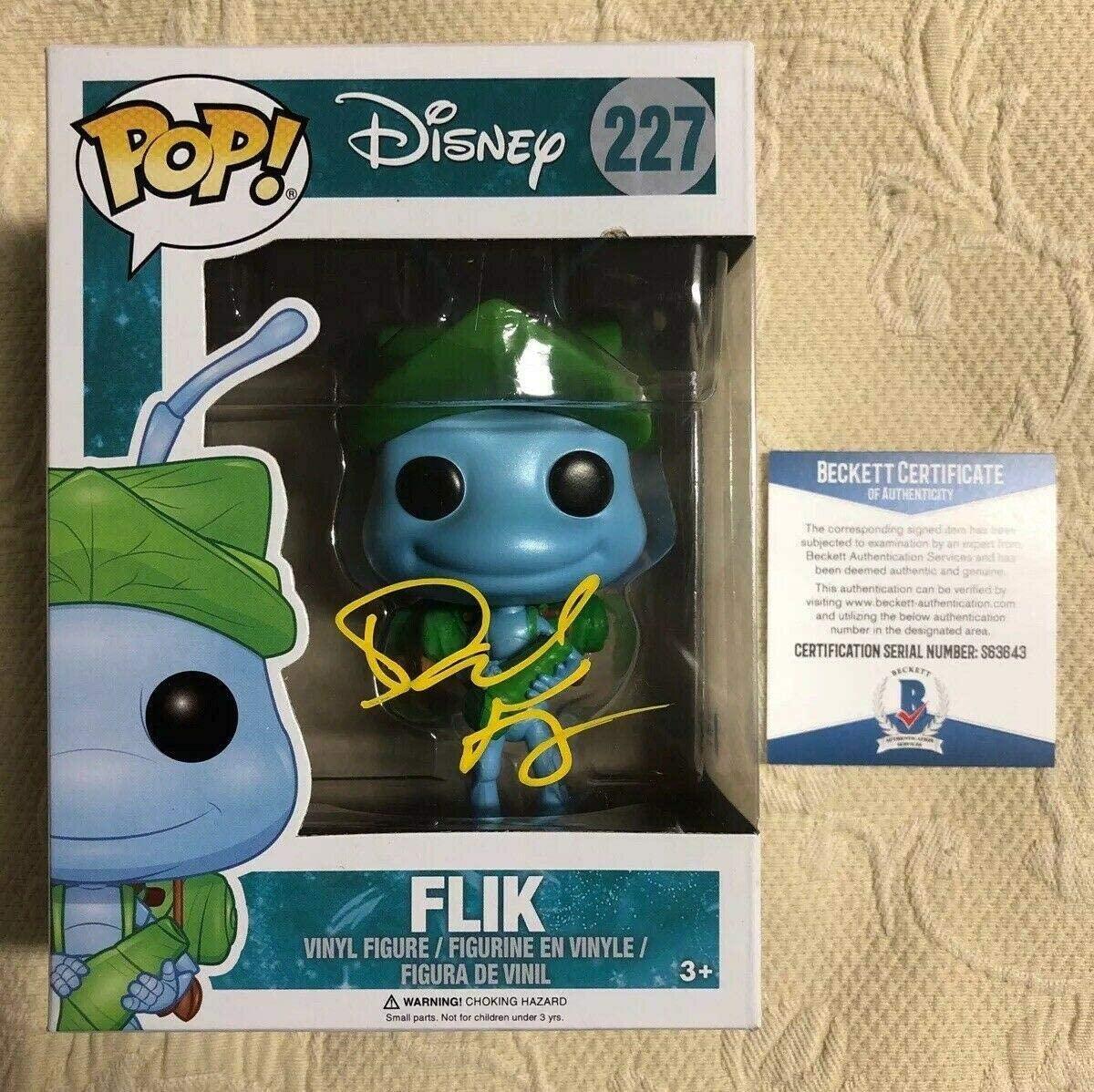 Dave Foley Signed Autographed Flik A Bugs Life Disney Funko POP BECKETT COA 2 - Beckett Authentication