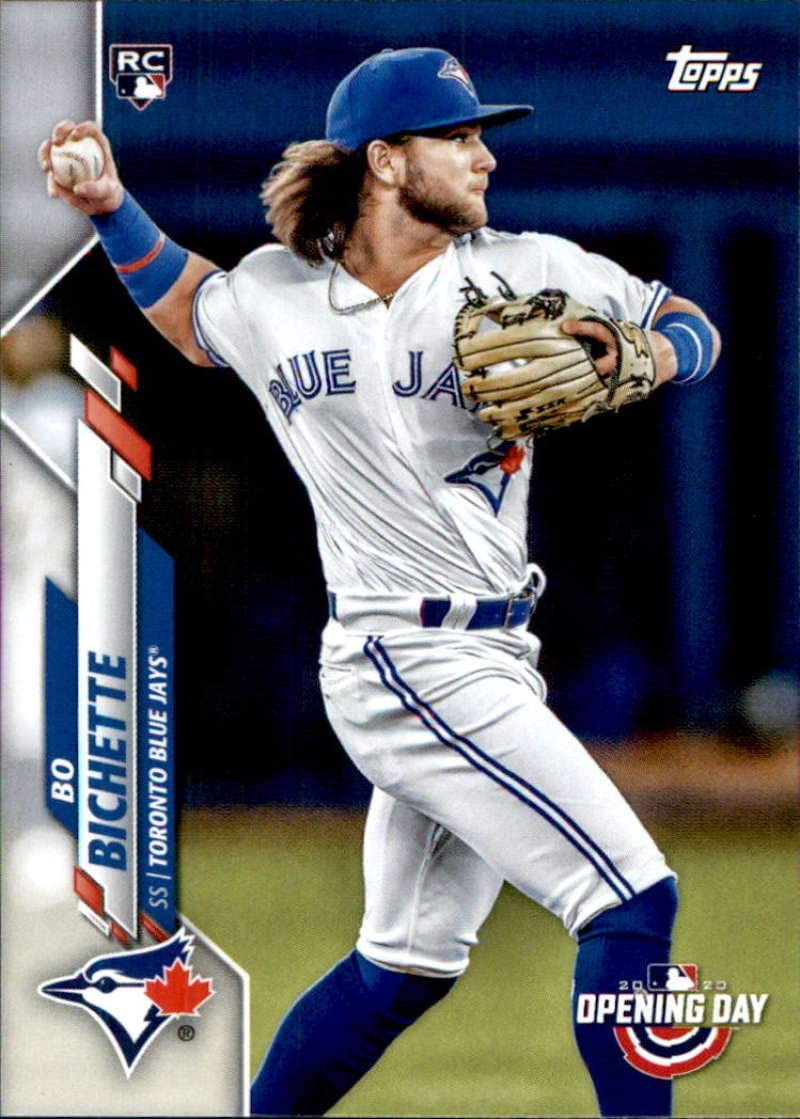 2020 Topps Opening Day #173 Bo Bichette NM-MT RC Rookie Blue Jays