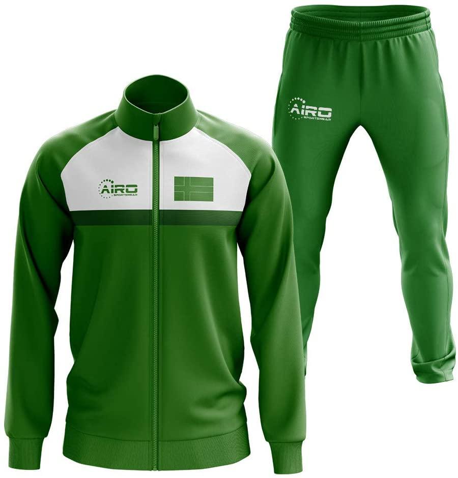 Airosportswear Ladonia Concept Football Tracksuit (Green)
