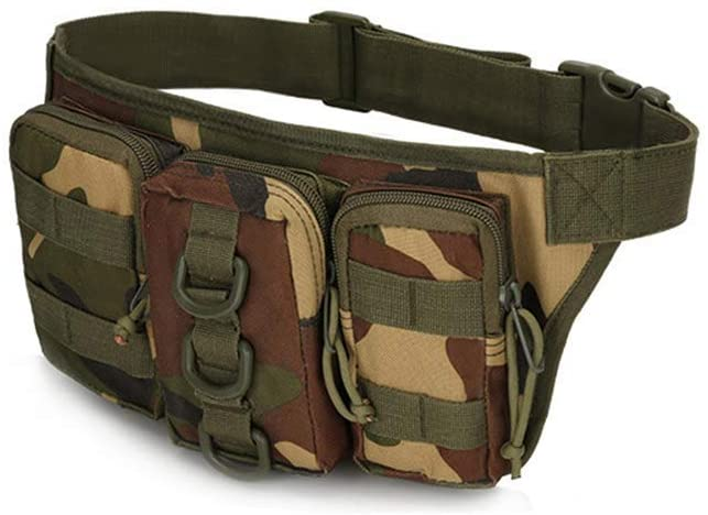 Outdoor Sports Hiking Versipack Running Waistpack Tactical Camouflage Molle Waist Bag Fanny Pack