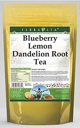 Blueberry Lemon Dandelion Root Tea (25 Tea Bags, ZIN: 562290) - 2 Pack