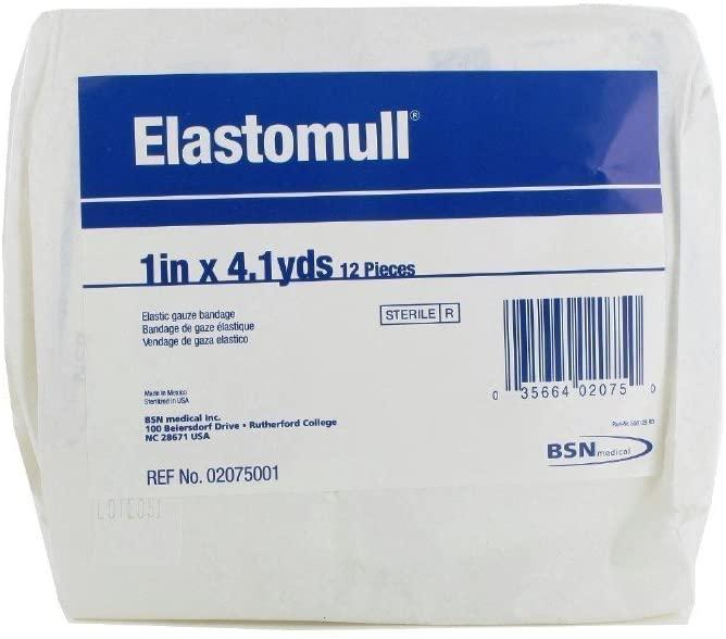 Elastomull Conforming Gauze Bandage. Dimensions: 1