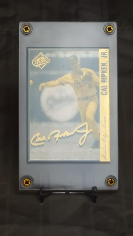 Cal Ripken Jr. Career Commemorative Gold Metal Cards Lot Of 100