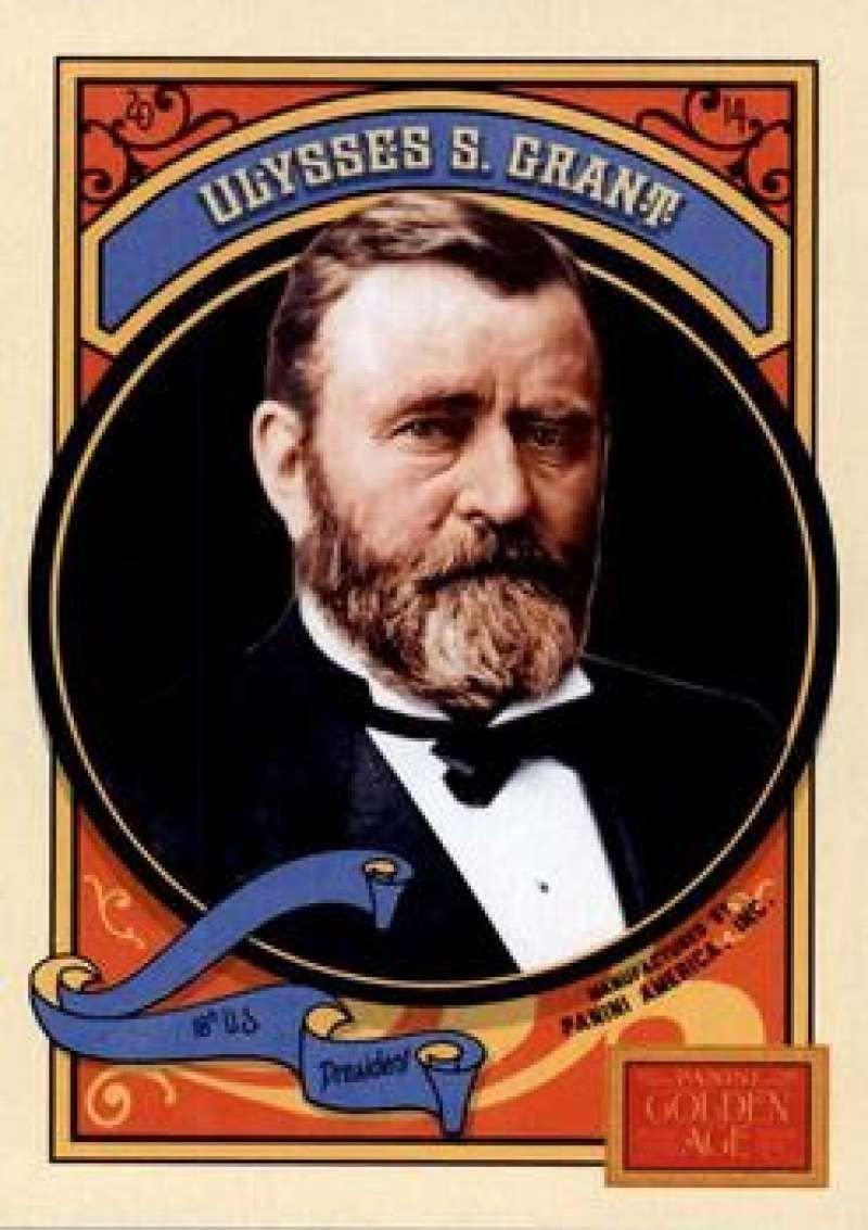 2014 Panini Golden Age #10 Ulysses S. Grant NMMT