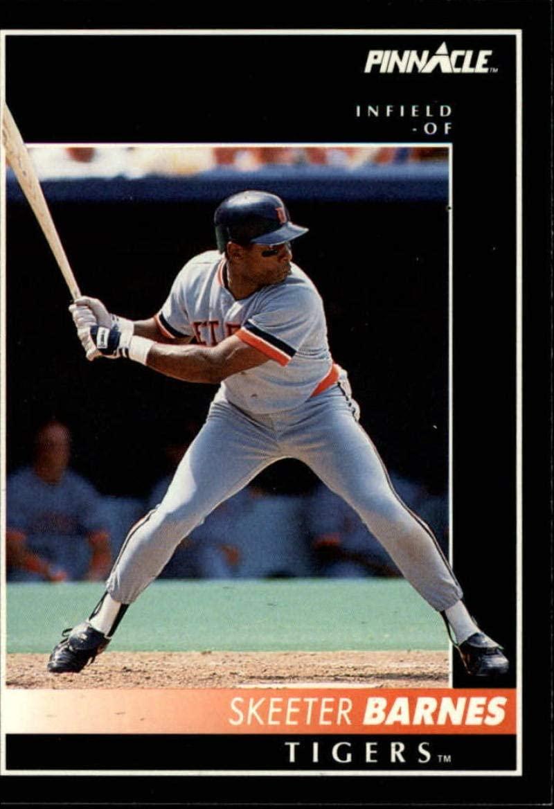 1992 Pinnacle #218 Skeeter Barnes NM-MT Tigers