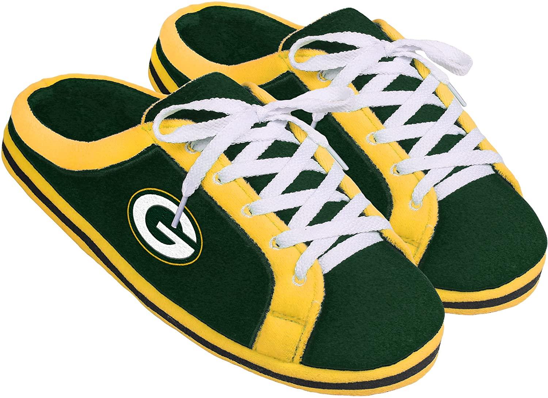 Green Bay Packers Sneaker Slide Slipper Extra Large