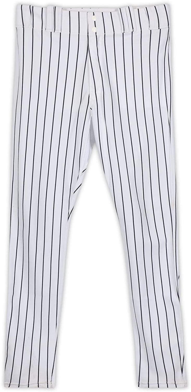 Adam Warren New York Yankees Game-Used #43 White Pinstripe Pants from the 2017 MLB Postseason - Fanatics Authentic Certified