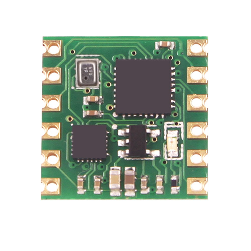 WitMotion WT901B High-Accuracy 9-Axis AHRS MPU9250 Acceleration Sensor, Air Pressure+Angle+Gyro+Accelerometer+Magnetometer(200HZ Max), Electronic Compass Vibration Inclinometer Module for Arduino
