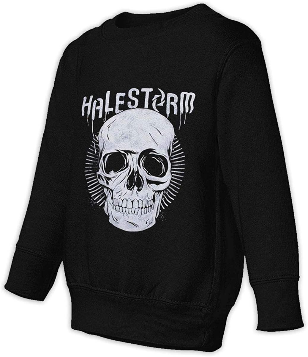 BodiGulick Hale-Storm Boys and Girls Sweatshirts, Cotton Sports Tops Sweatshirt Black
