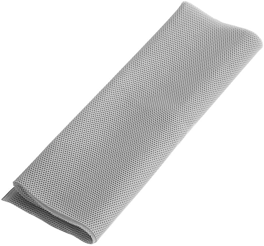 Fabric Dustproof Protective Cloth Cover Stereo Audio Speaker Mesh Grill Cloth 1.4m x 0.5m (Gray)