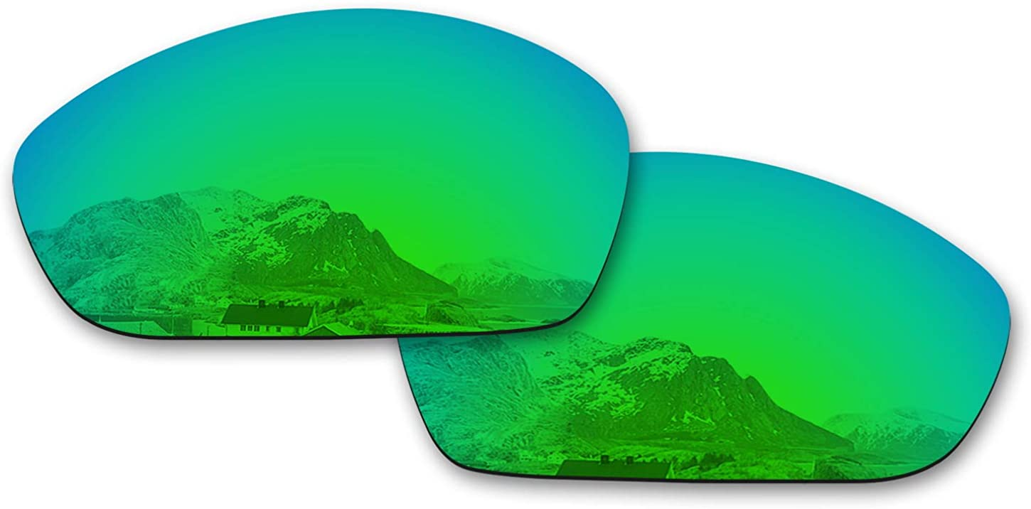 Puzzley Mirror Polarized Replacement Lenses for Oakley Monster Dog Sunglasses - Rich Options