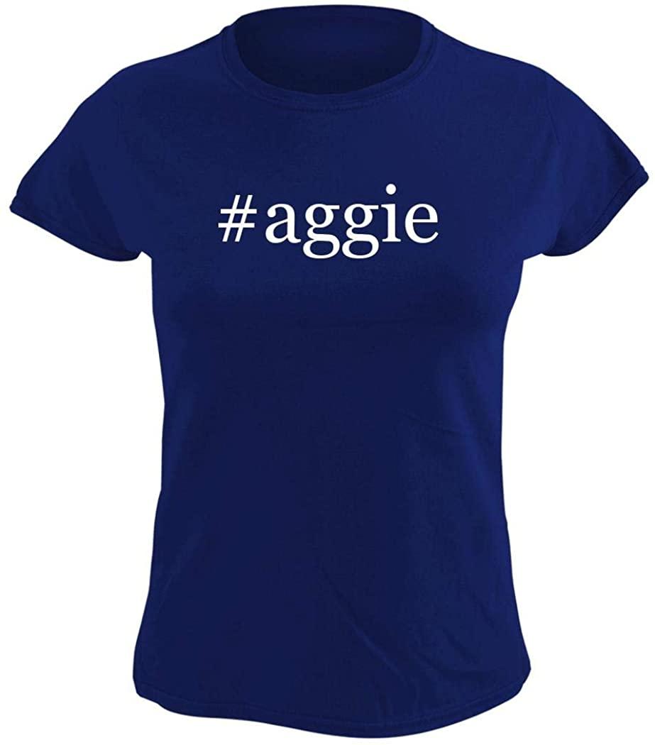 Harding Industries #Aggie - Womens Hashtag Graphic T-Shirt