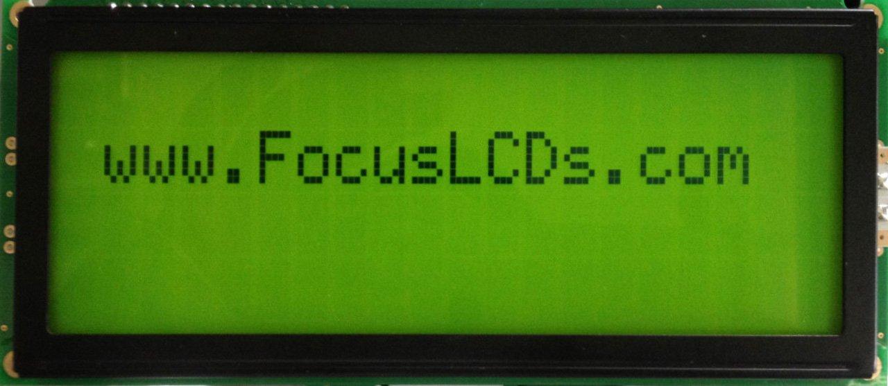20 x 4 Character LCD (155 x 73)