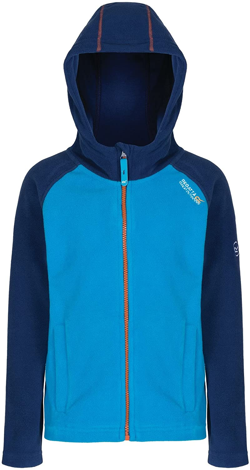 Regatta Upflow Fleece Juniour Kids Outdoor Sport Warm Soft Light Practical Hoody All Season