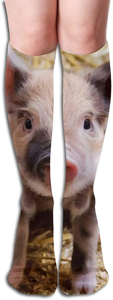 Women's Knee High Socks Grass Pig Cycling Travel Girls Leg Winter Dresses Trouser Knit Cosplay Stockings