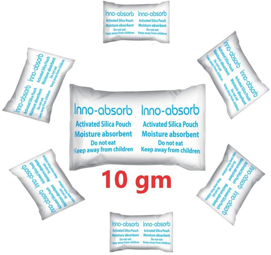 Inno-Absorb Activated Silica Gel -10 gm45 pcs