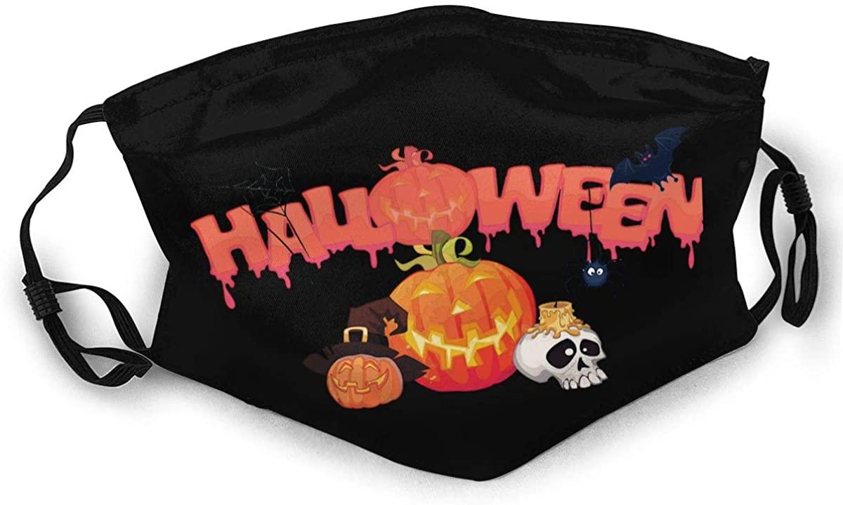 Halloween Adult Outdoor Sports Windproof Dustproof Face Towel Headscarf Scarf Sunscreen
