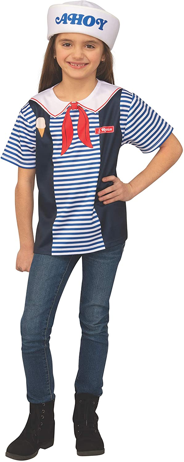 Robin of Stranger Things Scoops Ahoy Uniform Womens Costume
