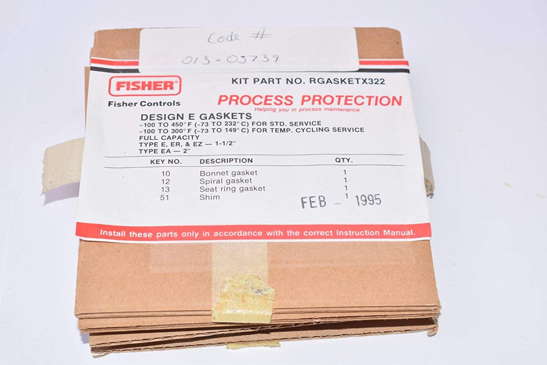 Fisher Controls, Part: RGASKETX322 Design E Gaskets