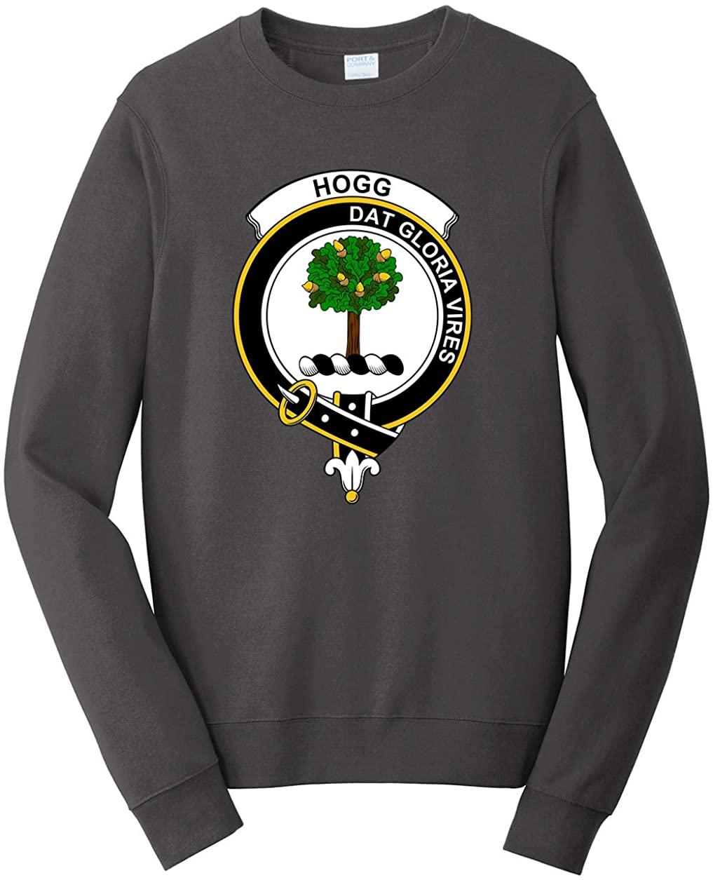 Tenacitee Unisex Scottish Clan Crest Badge Hogg Sweatshirt