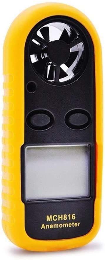 KXA Precise MCH816 Digital Air Temperature Anemometer Handheld Tester durable