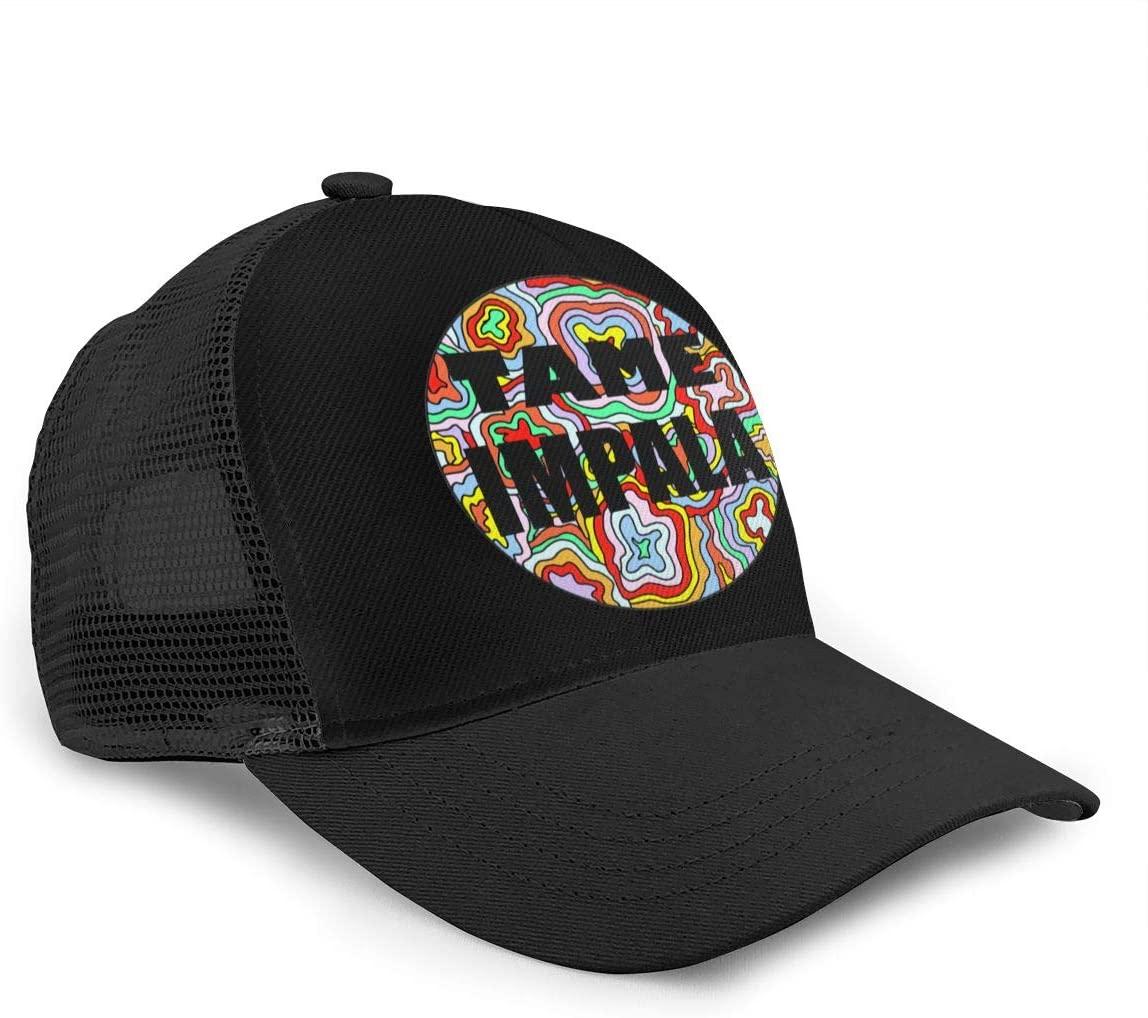 Tame Impala Psychedelic Unisex Bending-Edge Mesh Refreshing And Breathable Fashionable Baseball Cap