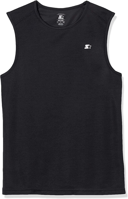 Starter Men's Sleeveless Muscle Tech T-Shirt, DHgate Exclusive