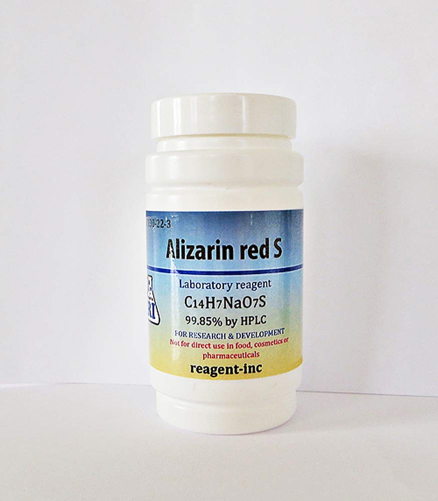 Alizarin Red S, ACS 99.85%, dye Content, Biological Stain, 50 g