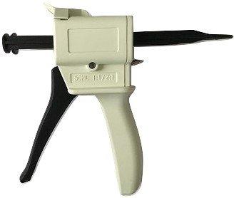 ProCaliber Products Dispensing Gun Kit for 50ml Dental Adhesive Cartridges (1:1 & 2:1 Ratios)